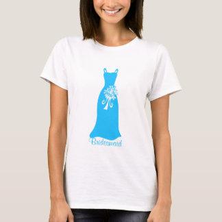 Ocean Blue Bridesmaid Dress