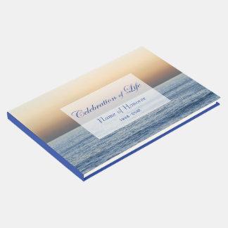 Ocean Blue Celebration of Life Memorial Guest Book