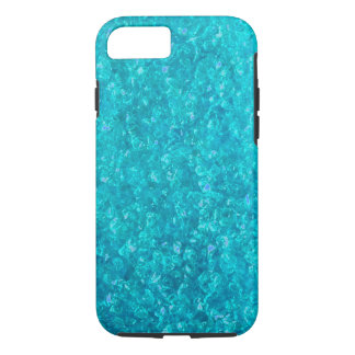 Ocean Blue Crushed Glass iPhone 7 case