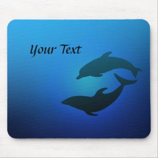 Ocean Blue Dolphins Mousepad