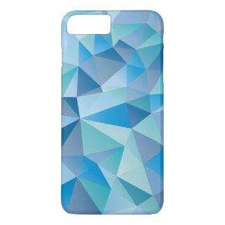Ocean Blue Geometric iPhone 7 Plus Case