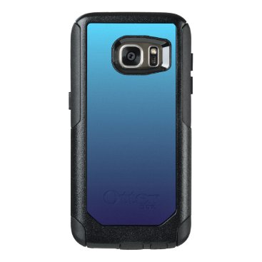Ocean Themed Ocean blue gradient template OtterBox samsung galaxy s7 case