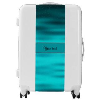 Ocean Blue Luggage