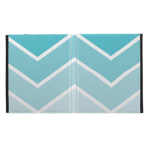 Blue ombre chevron pattern - photo#13