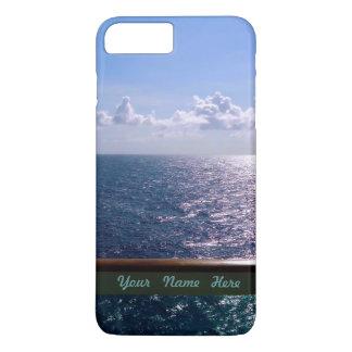 Ocean Blue Personalized iPhone 7 Plus Case