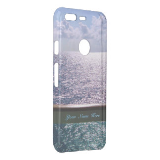 Ocean Blue Personalized Uncommon Google Pixel Case