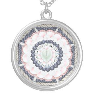 Ocean Blue Sailors Valentine Necklace