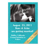 OCEAN BLUE Save the day wedding announcement