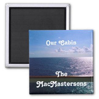 Ocean Blue Stateroom Door Marker Magnet