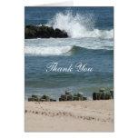Ocean Blue Thank You Note Card
