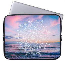 Ocean Boho Mandala | Laptop Sleeve