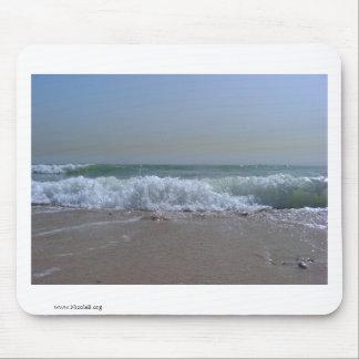 Ocean Breeze - Beach in Kuwait Mouse Pad