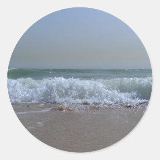Ocean Breeze - Beach in Kuwait Stickers
