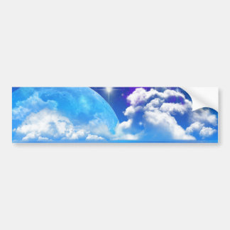 Ocean Breeze on Another World Bumper Sticker