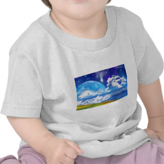 Ocean Breeze on Another World Tshirts