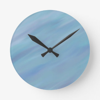 Ocean Breeze Round Clock