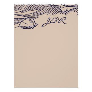 Ocean Breeze | Rustic Beach DIY Envelopes Liner Flyer