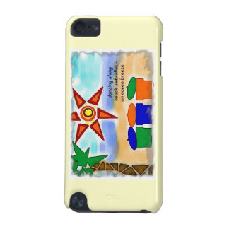Ocean Breeze Scenic Beach iPod Touch Case