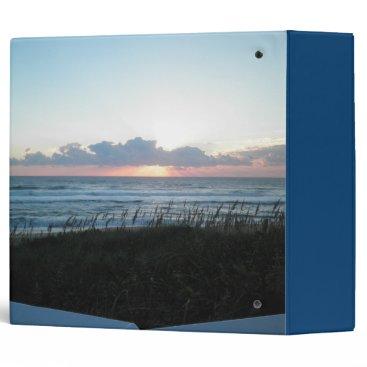"""Beach Themed Ocean Breezes 2"""" Binder"""