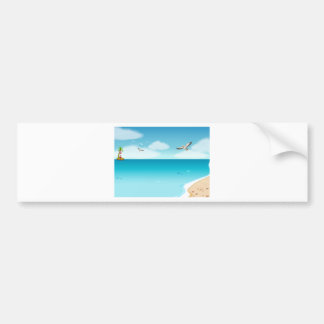 Ocean Bumper Sticker