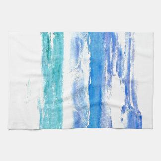 Ocean Calypso - turquoise beach surf painting Towel