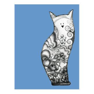 Ocean Cat Postcard