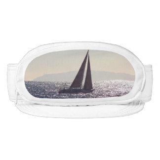 Ocean Catalina Island Sailboat Boat Cap-Sac Hat Visor