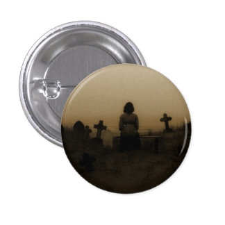 Ocean cemetery pin redondo 2,5 cm