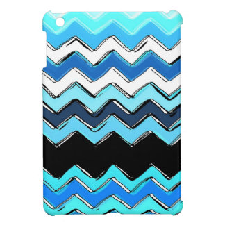 ocean chevron cover for the iPad mini