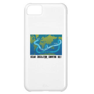 Ocean Circulation Conveyor Belt (World Map) iPhone 5C Case