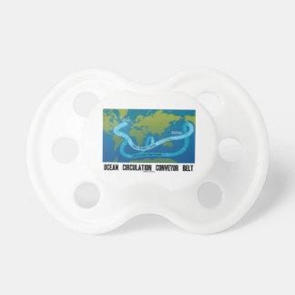 Ocean Circulation Conveyor Belt (World Map) Pacifier