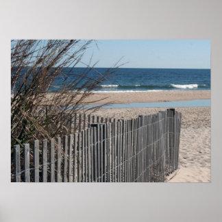 Ocean City Beach Print