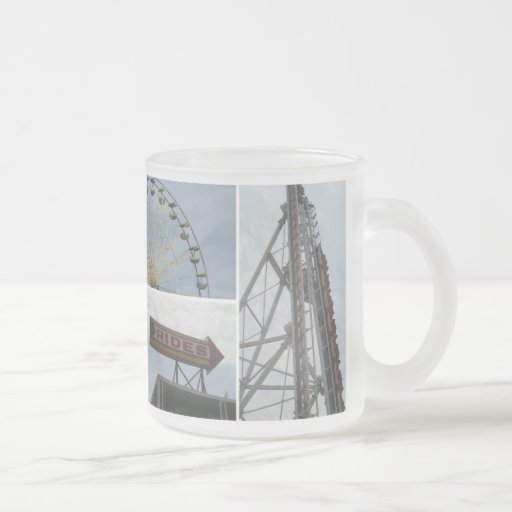 Ocean City Boardwalk Rides Coffee Mugs