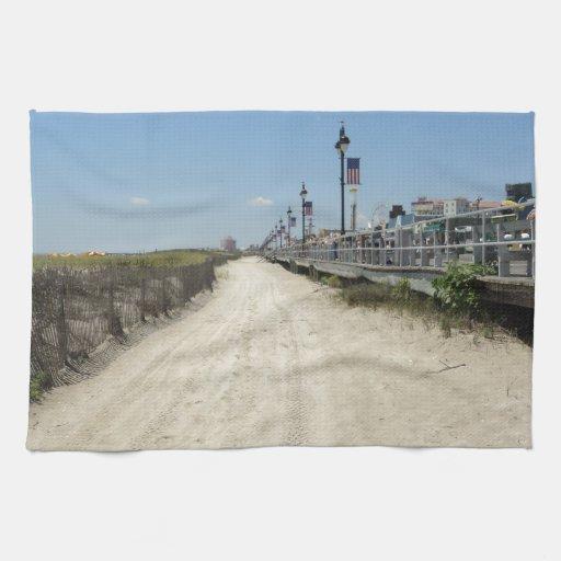Ocean city Boardwalk Towels
