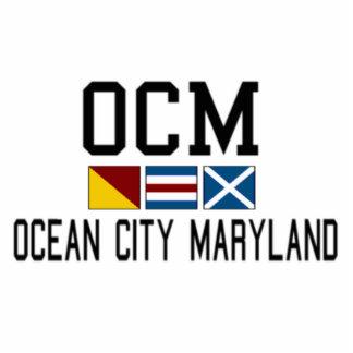 Ocean City. Cutout