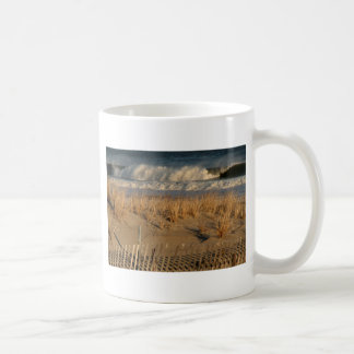 Ocean City Dunes with Waves Mugs