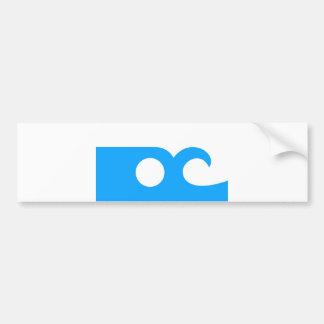 ocean city flag state america Maryland Bumper Sticker