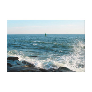 Ocean City Inlet Canvas Print