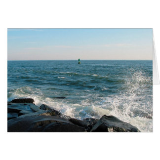 Ocean City Inlet Stationery Note Card
