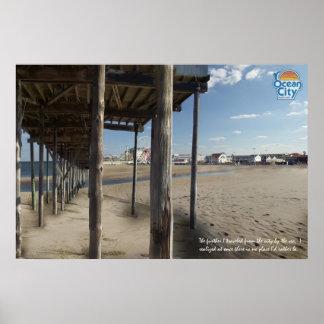 Ocean City Inlet Poster