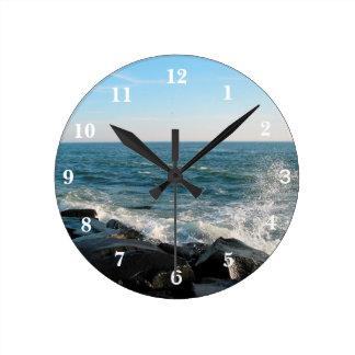 Ocean City Inlet Round Clock