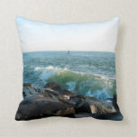 Ocean City Inlet Throw Pillows