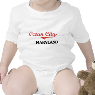 Ocean City Maryland City Classic Rompers