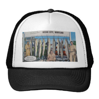 Ocean City, Maryland Home Of The White Marlin, Vin Trucker Hat
