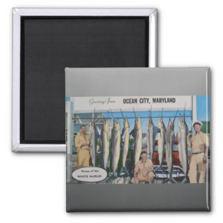 Ocean City Maryland Home Of The White Marlin Vin Magnet