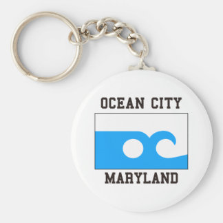 Ocean City Maryland Keychain