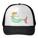 Ocean City, Maryland Mermaid Trucker Hat