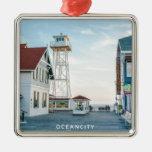 Ocean City Maryland. Metal Ornament