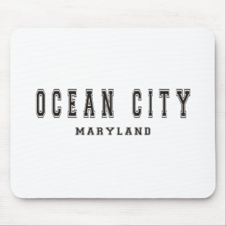 Ocean City Maryland Mouse Pad