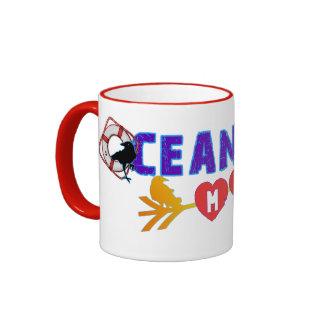 Ocean City Maryland Souvenir Ringer Mug